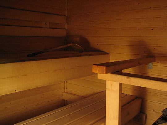 ...sauna...